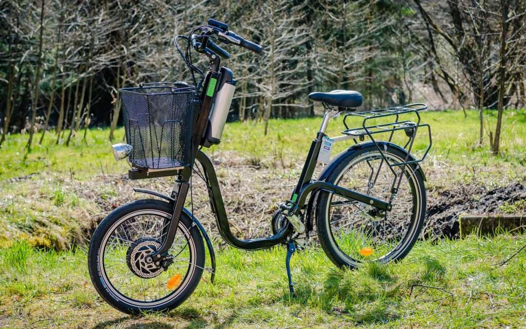 Vélo électrique dans les Vosges