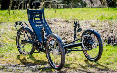 Tricycle couché en Meurthe-et-Moselle